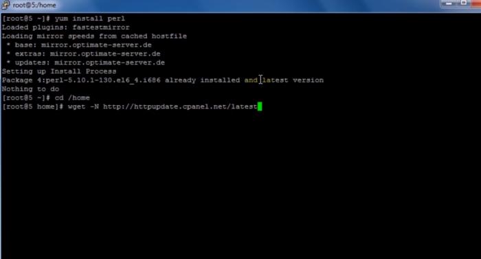 Làm thế nào để cài đặt cPannel và WHM trên VPS của bạn?